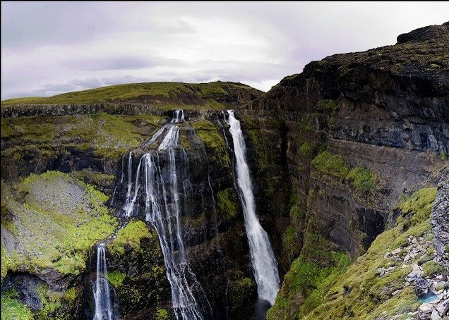 Glymur Waterfall & Hike