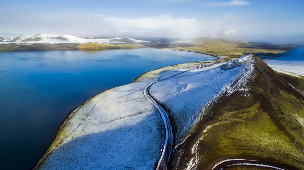 Self Driving in Iceland