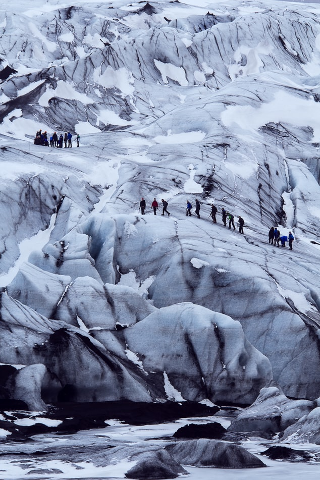 Iceland affiliate program, glacier hiking in Iceland