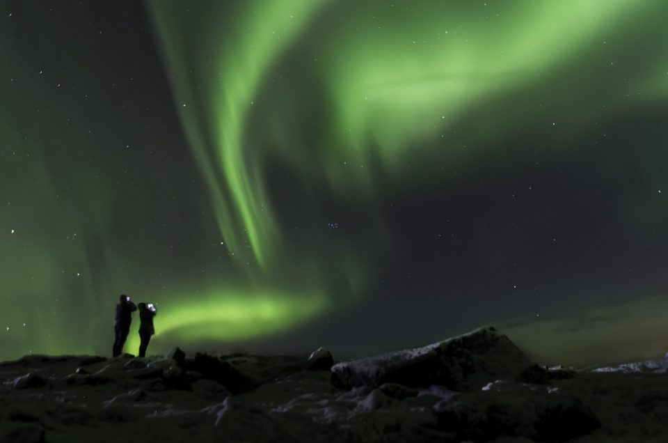 northern lights in Iceland, aurora borealis, northern lights hotels