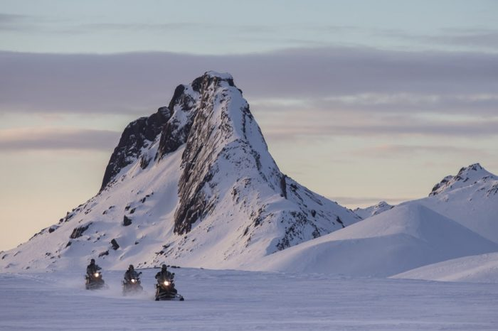 Golden Circle, Snowmobile & Blue Ice Cave